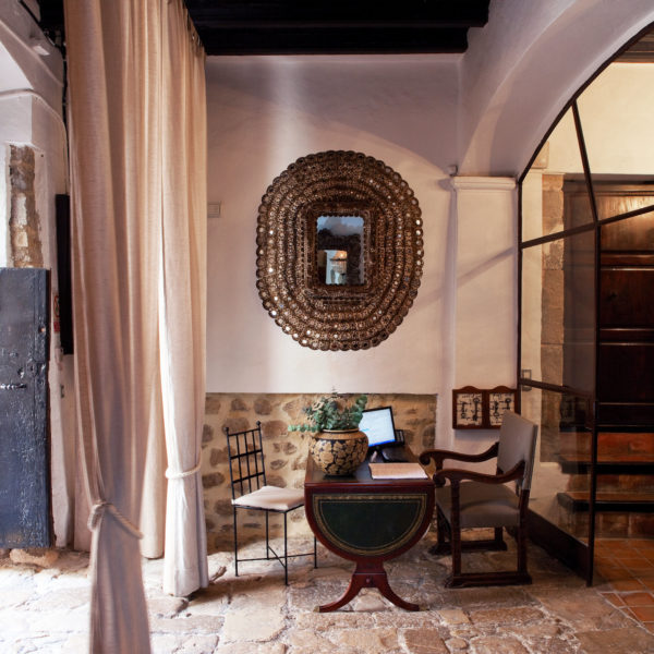 Recepción Hotel Torre del Canónigo Ibiza
